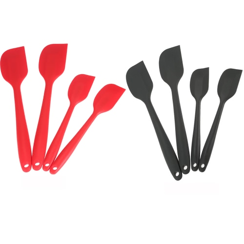 4pcs Silicone Spatulas Set Cake Spatula with Hygienic Solid Coating Kitchen Cooking Baking Tools UtensilCooking Tools<br>4pcs Silicone Spatulas Set Cake Spatula with Hygienic Solid Coating Kitchen Cooking Baking Tools Utensil<br><br>Blade Length: 29.0cm