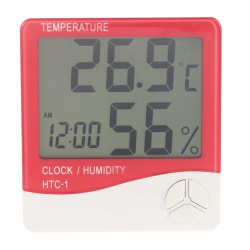 Digital Thermometer Hygrometer Clock Temperature Humidity Meter CalendarTemperature &amp; Humidity Instrument<br>Digital Thermometer Hygrometer Clock Temperature Humidity Meter Calendar<br><br>Blade Length: 17.5cm
