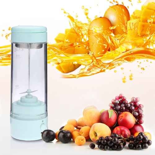 400ml Handy Portable Chargeable Electric Juice Cup Multifunctional Juice Glass Mini Juice Maker H16995T