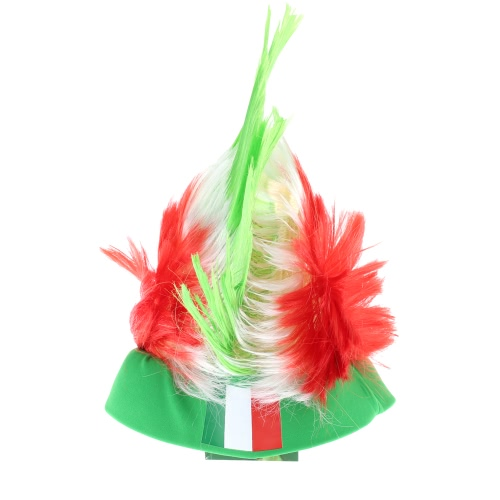 Anself Germany Flag Football Soccer Fans Wig Cockscomb European Cup FIFA World Cup Sports Carnival Festival Cosplay CostumeOther Holiday Supplies<br>Anself Germany Flag Football Soccer Fans Wig Cockscomb European Cup FIFA World Cup Sports Carnival Festival Cosplay Costume<br><br>Blade Length: 32.0cm