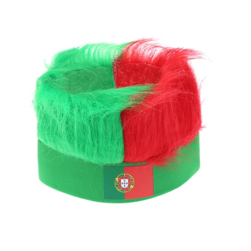 ANSELF America Flag Football Soccer Fans Wig Head Cap European Cup FIFA World Cup Sports Carnival Festival Cosplay Costume H17092PT