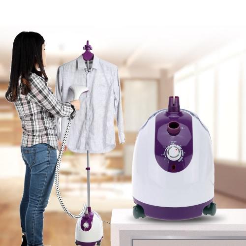 Professional Garment Steamer Electronic Mechanical Adjustment Steam Ironing Machine Household Hang Electric Iron H16496EU