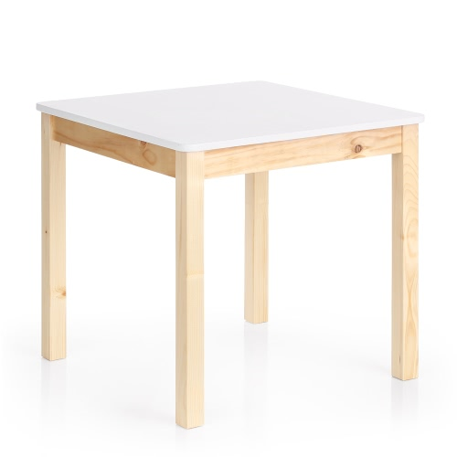iKayaa Cute Wooden Kids Table Solid Pine Wood Square Toddler Children Activity Table for Playing LearningIndoor furniture<br>iKayaa Cute Wooden Kids Table Solid Pine Wood Square Toddler Children Activity Table for Playing Learning<br><br>Blade Length: 64.0cm