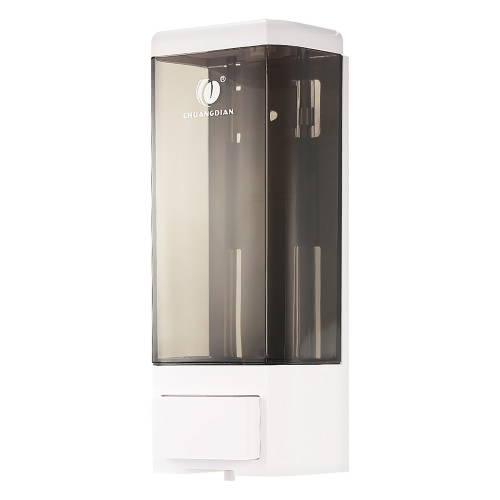 Anself CHUANGDIAN Manual Single Bottle Wall Mount Soap Dispenser 500ml Liquid Hand Cleanser Washroom Lotion Dispenser for Hospital Home Hotel Bathroom Office School HotelGarden Supplies<br>Anself CHUANGDIAN Manual Single Bottle Wall Mount Soap Dispenser 500ml Liquid Hand Cleanser Washroom Lotion Dispenser for Hospital Home Hotel Bathroom Office School Hotel<br><br>Blade Length: 21.5cm