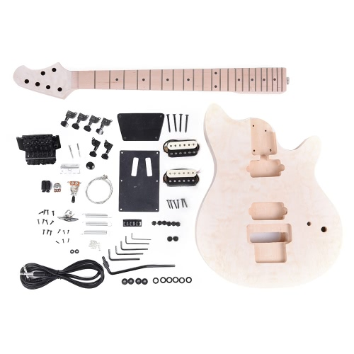 Unfinished DIY Electric Guitar Kit Basswood Body Fingerboard Maple NeckElectric Guitars<br>Unfinished DIY Electric Guitar Kit Basswood Body Fingerboard Maple Neck<br><br>Blade Length: 72.0cm