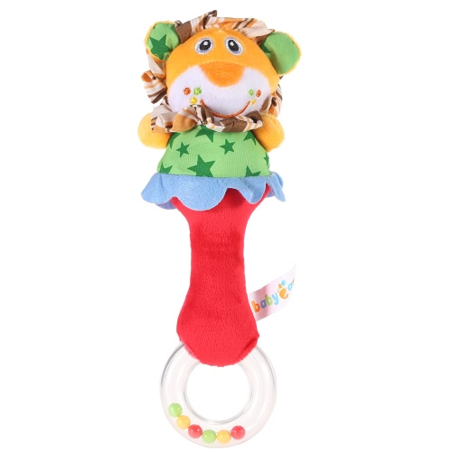 Cute Lovely Animal Baby Rattle Soft Material Gift Present Music Musical Toy for Kids Babies Crib