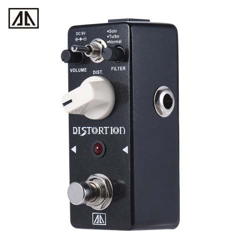 AROMA ABT-5 Classic Distortion Guitar Effect Pedal Warm Smooth Wide Range Distortion Sound 3 Modes Aluminum Alloy Body True BypassGuitar Accessories<br>AROMA ABT-5 Classic Distortion Guitar Effect Pedal Warm Smooth Wide Range Distortion Sound 3 Modes Aluminum Alloy Body True Bypass<br><br>Blade Length: 12.5cm