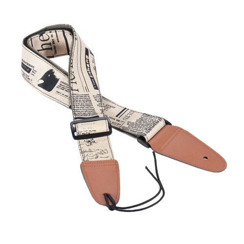 Comfortable Adjustable Guitar Shoulder Strap Synthetic Leather Ends for Acoustic Folk Classic Electric Guitars BassGuitar Accessories<br>Comfortable Adjustable Guitar Shoulder Strap Synthetic Leather Ends for Acoustic Folk Classic Electric Guitars Bass<br><br>Blade Length: 17.5cm