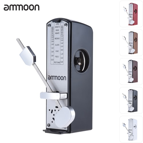 ammoon Portable Mini Mechanical Metronome Universal Metronome 11cm Height for Piano Guitar Violin Ukulele Chinese Zither Music InstrumentUkuleles<br>ammoon Portable Mini Mechanical Metronome Universal Metronome 11cm Height for Piano Guitar Violin Ukulele Chinese Zither Music Instrument<br><br>Blade Length: 11.8cm