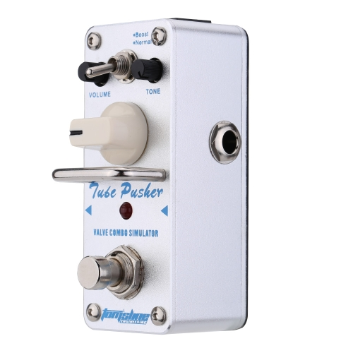 AROMA ATP-3 Tube Pusher Valve Combo Simulator Electric Guitar Effect Pedal Mini Single Effect with True BypassAroma<br>AROMA ATP-3 Tube Pusher Valve Combo Simulator Electric Guitar Effect Pedal Mini Single Effect with True Bypass<br><br>Blade Length: 12.0cm