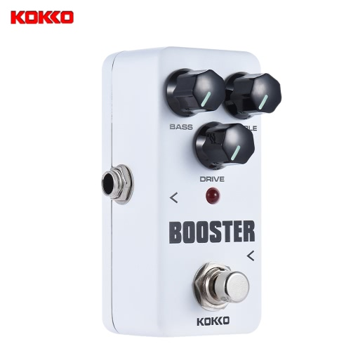 Buy KOKKO FBS2 Mini Booster Pedal Portable 2-Band EQ Guitar Effect