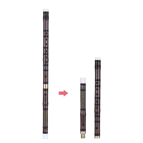 Pluggable Handmade Bitter Bamboo Flute/Dizi Traditional Chinese Musical Woodwind Instrument in F Key for Beginner Study LevelFlutes &amp; Piccolos &amp; Accessories<br>Pluggable Handmade Bitter Bamboo Flute/Dizi Traditional Chinese Musical Woodwind Instrument in F Key for Beginner Study Level<br><br>Blade Length: 44.0cm