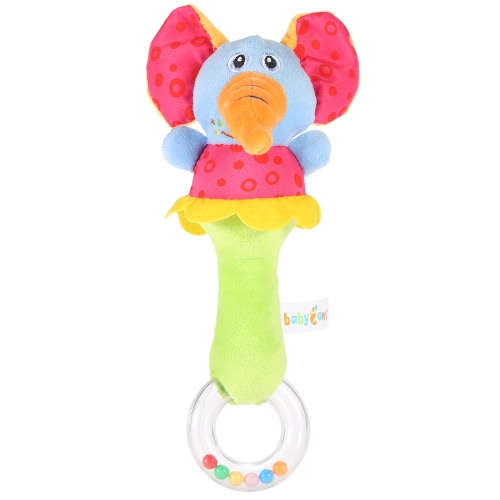 Cute Lovely Animal Baby Rattle Soft Material