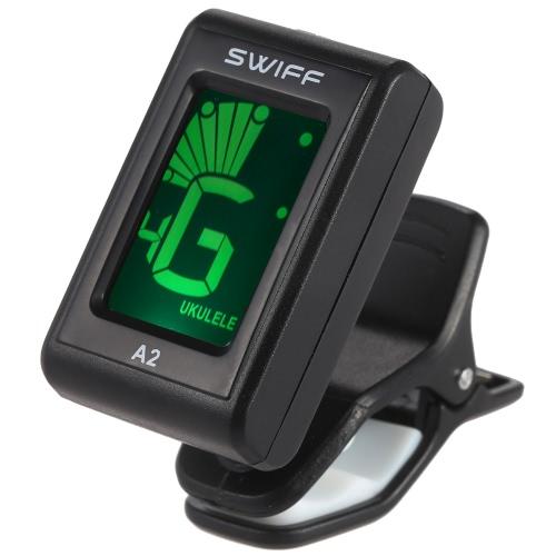 SWIFF A2 Mini Clip-On LCD Automatic Digital Tone Tuner