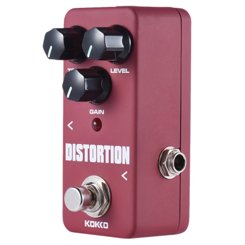 Buy KOKKO FDS2 Mini Distortion Pedal Portable Guitar Effect