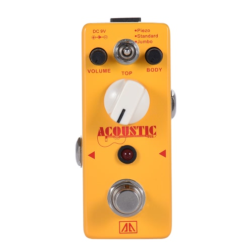 AROMA AAS-5 Acoustic Guitar Simulator Effect Pedal 2 Modes Aluminum Alloy Body True BypassGuitar Accessories<br>AROMA AAS-5 Acoustic Guitar Simulator Effect Pedal 2 Modes Aluminum Alloy Body True Bypass<br><br>Blade Length: 12.5cm