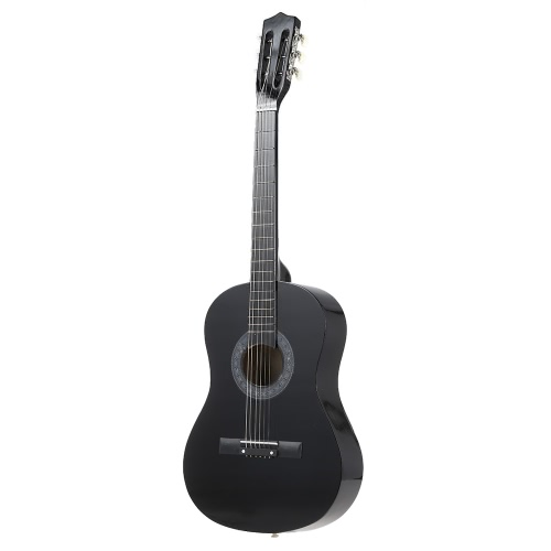 38 6-String Folk Acoustic Guitar for Beginners Music Lovers Students GiftGuitars<br>38 6-String Folk Acoustic Guitar for Beginners Music Lovers Students Gift<br><br>Blade Length: 104.0cm
