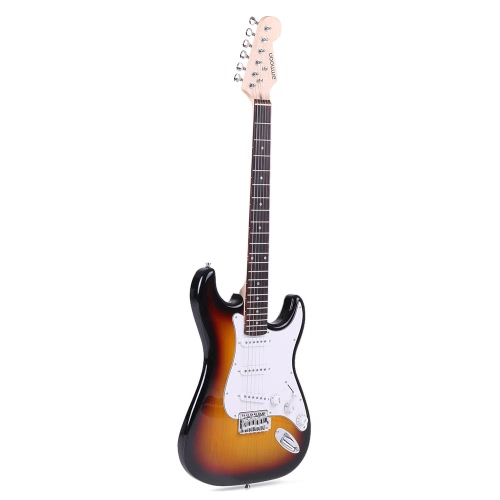 ammoon Full Size Electric Guitar Poplar Wood Body Rosewood Fingerboard with Gig Bag Strap Strings for BeginnerElectric Guitars<br>ammoon Full Size Electric Guitar Poplar Wood Body Rosewood Fingerboard with Gig Bag Strap Strings for Beginner<br><br>Blade Length: 105.0cm