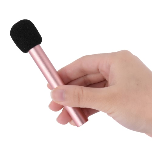 Handheld Mini Microphone 3.5mm Stereo Condenser Mic for iPhone Android Smartphone PC Laptop Chatting Singing KaraokeMicrophones<br>Handheld Mini Microphone 3.5mm Stereo Condenser Mic for iPhone Android Smartphone PC Laptop Chatting Singing Karaoke<br><br>Blade Length: 12.0cm