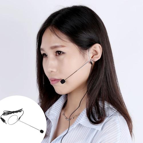 Uni-Directional Mini Ear-hook Headset Microphone Mic for Voice Amplifier Amp LoudspeakerUni-Directional Mini Ear-hook Headset Microphone Mic for Voice Amplifier Amp Loudspeaker<br><br>Blade Length: 20.0cm