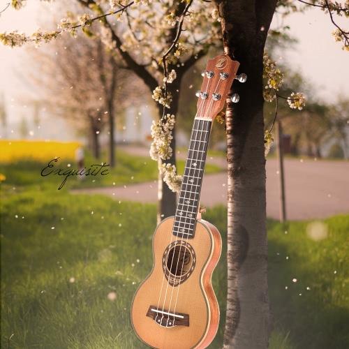 "21"" Soprano Spruce 42mm Ukelele Gift Slim Design от tomtop.com INT"