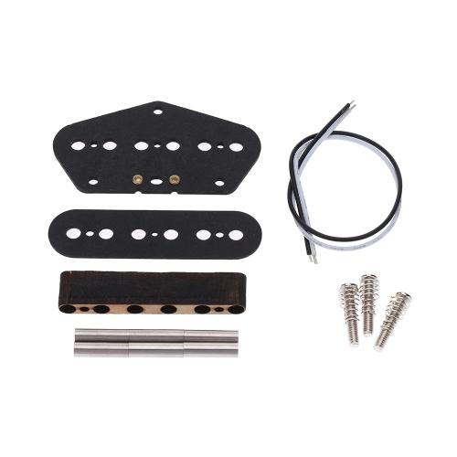 Electric Guitar Pickup Coil Bobbin DIY Kit Set for Fender Telecaster TL Guitar I1180