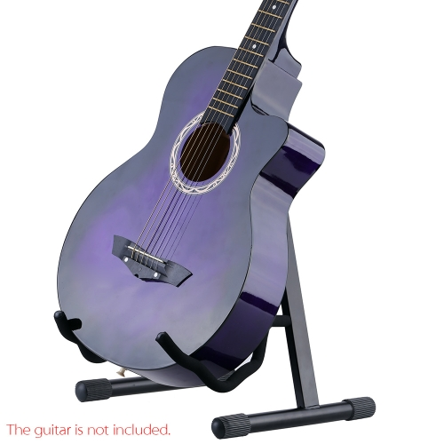 Andoer GS-E03 Folding A-Shaped Guitar Stand Holder Adjustable Width for Acoustic Electric Guitar Bass I1208