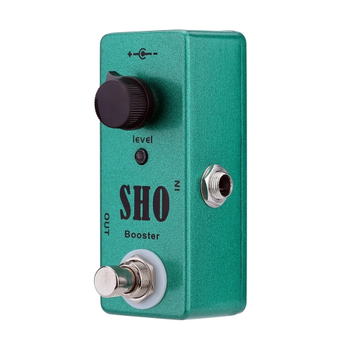 SHO Booster Electric Guitar Effect Pedal Mini Single Effect with Clean Boost True BypassGuitar Accessories<br>SHO Booster Electric Guitar Effect Pedal Mini Single Effect with Clean Boost True Bypass<br><br>Blade Length: 11.0cm