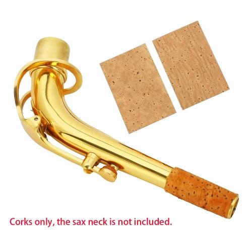 2pcs 2mm Sax Saxphone Tenor Neck Joint Corks Strips SheetsSaxophones &amp; Accessories<br>2pcs 2mm Sax Saxphone Tenor Neck Joint Corks Strips Sheets<br><br>Blade Length: 6.1cm