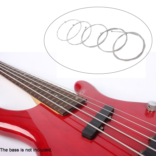 5pcs Electric Bass String Set Nickel Plated Steel Accessory .040.125 I939