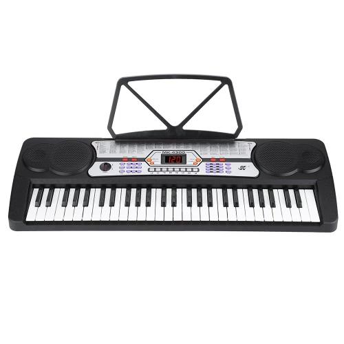 54 Keys LED Display Digital Electronic Music