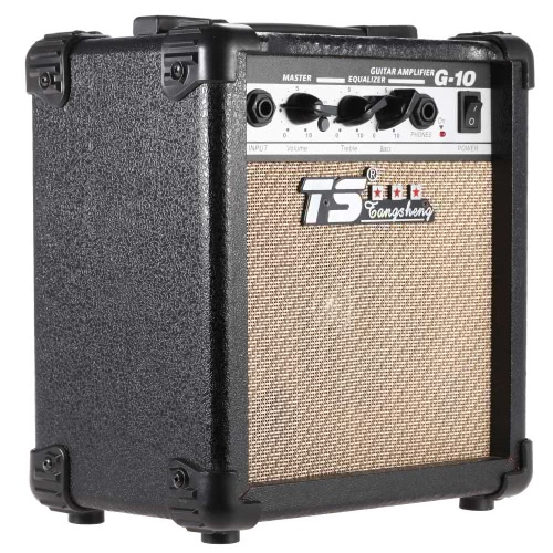 """G-10 Electric Guitar Amplifier Overdrive Professional Amp 5"""""""" Speaker with 2-Band EQ"""" I1882UK"""