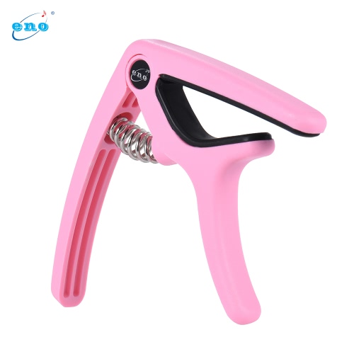 eno EGC3 Lightweight Quick Change Capo Clamp Plastic Steel for Acoustic Classical Folk Electric Guitar Bass PinkGuitar Accessories<br>eno EGC3 Lightweight Quick Change Capo Clamp Plastic Steel for Acoustic Classical Folk Electric Guitar Bass Pink<br><br>Blade Length: 12.0cm