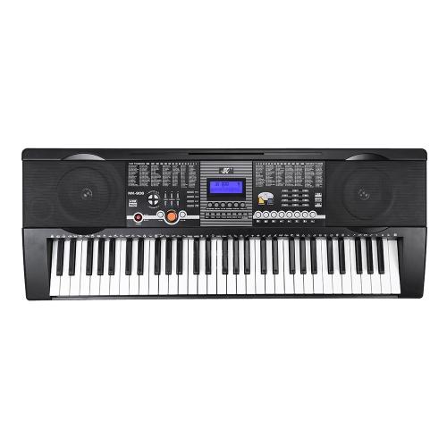 61 Keys Multifunctional LCD Display Digital Keyboard