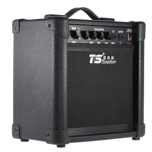 """GM-515 Professional 3-Band EQ 15W Electric Guitar Amplifier Amp Distortion with 6.5"""""""" Speaker"""" I1884US"""