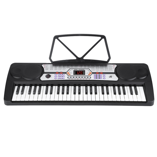 54 Keys LED Display Digital Electronic Music