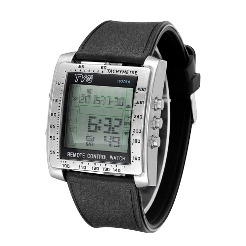 TVG Fashion Novelty Unique Multifunctional Watch with TV/DVD Remote