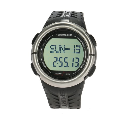 Practical Strapless Heart Rate Monitor with Pedometer