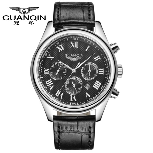 GUANQIN 2016 Fashion Mens Luxury Quartz Watches Classic Leather Strap Watch Hours Clock Male Wristwatch for MenQuartz Watches<br>GUANQIN 2016 Fashion Mens Luxury Quartz Watches Classic Leather Strap Watch Hours Clock Male Wristwatch for Men<br><br>Blade Length: 10.0cm