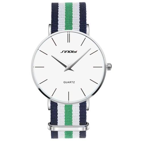 SINOBI 2016 Luxury Brand Casual Man Business Dress Wristwatch 30M Water-resistant Quartz Men Watches