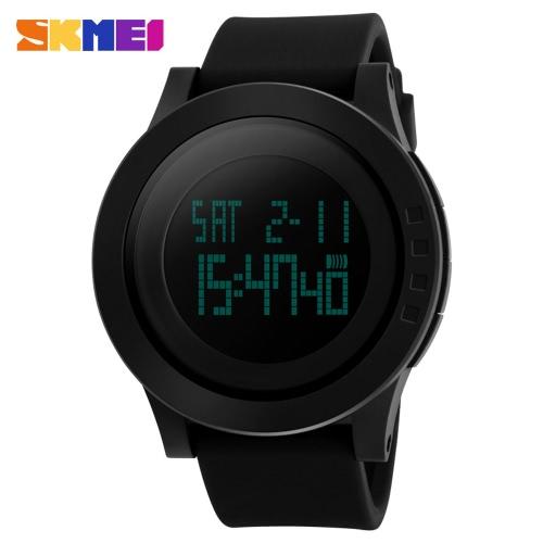 Buy SKMEI Brand Fashion Digital Men Sports Military Watch Big Dial Student Boy Man's Casual Wristwatch Date Backlight