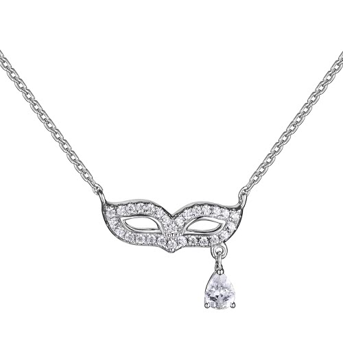 JURE S925 Solid Sterling Silver Chain Necklace The One Jewelry Zirconia 18 InchNecklaces &amp; Pendants<br>JURE S925 Solid Sterling Silver Chain Necklace The One Jewelry Zirconia 18 Inch<br><br>Blade Length: 22.5cm
