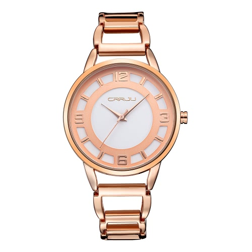 CRRJU Chic 3ATM Daily Water Resistant Fashion Women Analog Watch Elegant Simple Lady Wristwatch for Spouse FriendsQuartz Watches<br>CRRJU Chic 3ATM Daily Water Resistant Fashion Women Analog Watch Elegant Simple Lady Wristwatch for Spouse Friends<br><br>Blade Length: 15.0cm