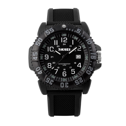 SKMEI Fashionable Outdoor Luminous Women Men Sports Looking Watch 5ATM Life Water-resistant Quartz Watch Silicone Strap Unisex WristwatchQuartz Watches<br>SKMEI Fashionable Outdoor Luminous Women Men Sports Looking Watch 5ATM Life Water-resistant Quartz Watch Silicone Strap Unisex Wristwatch<br><br>Blade Length: 13.0cm