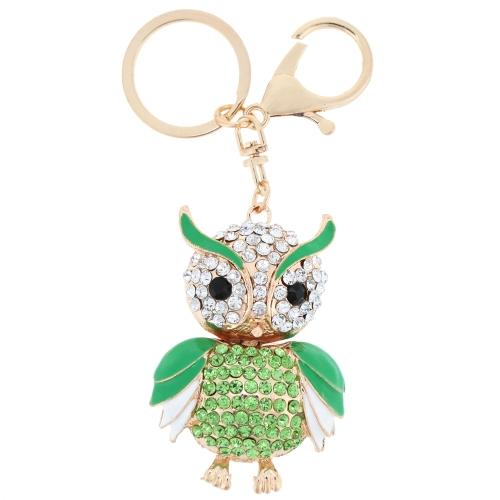 Fashional Jewelry Hollow Alloy Vintage Shinning Rhinestone Owl Pendant Key Ring Key ChainFashional Jewelry Hollow Alloy Vintage Shinning Rhinestone Owl Pendant Key Ring Key Chain<br><br>Blade Length: 15.0cm