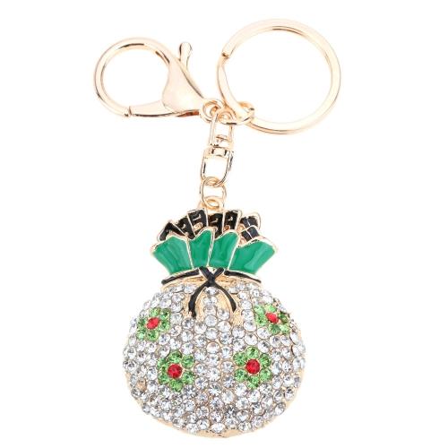 Fashional Jewelry Hollow Shinning Rhinestone Aureate Lucky Bag Pendant Flower Key Ring Key ChainFashional Jewelry Hollow Shinning Rhinestone Aureate Lucky Bag Pendant Flower Key Ring Key Chain<br><br>Blade Length: 16.0cm