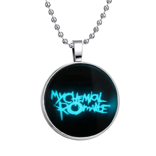 Brilliant Noctilucent Jewelry English Words Glowing Pendant Round Dome Cabochon Chain Retro Fashion Necklace for FemaleNecklaces &amp; Pendants<br>Brilliant Noctilucent Jewelry English Words Glowing Pendant Round Dome Cabochon Chain Retro Fashion Necklace for Female<br><br>Blade Length: 25.0cm
