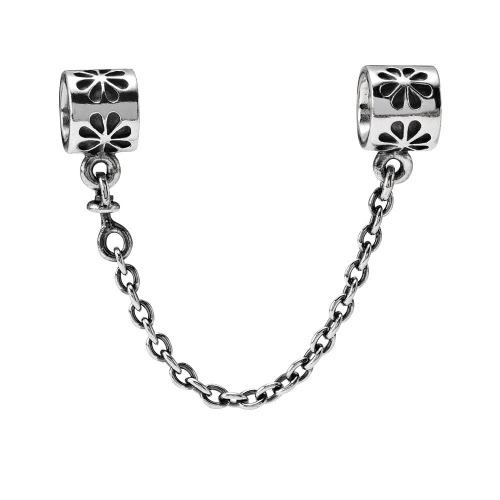 Romacci S925 Silver Safety Chain Stopper Bead with Daisy For European Charm Bracelet DIY Women JewelryDIY Jewelry<br>Romacci S925 Silver Safety Chain Stopper Bead with Daisy For European Charm Bracelet DIY Women Jewelry<br><br>Blade Length: 4.0cm