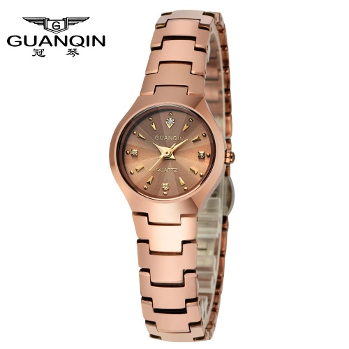 GUANQIN 2016 Fashion Men's Luxury Quartz Watches Classic Leather Strap Watch Hours Clock Male Wristwatch for Men
