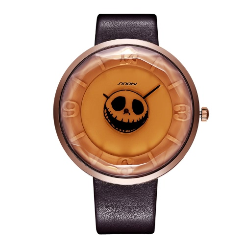 SINOBI 2016 New Special Ghost Pumpkin Retro Coffee Mens Watches Cool Fashion Casual 3D Digital Leather Strap WatchQuartz Watches<br>SINOBI 2016 New Special Ghost Pumpkin Retro Coffee Mens Watches Cool Fashion Casual 3D Digital Leather Strap Watch<br><br>Blade Length: 14.0cm